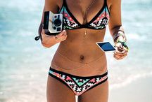 Summer beach travel