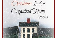 Organizing Home For Christmas