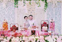 Real Wedding : Sangjit Decor by Sentra Bunga