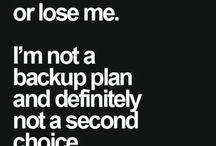 If me...