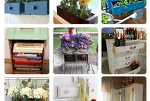 upcycled furniture
