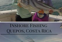 Inshore Fishing Quepos Costa Rica / Inshore fishing in Quepos, Costa Rica.  Experience a fun day of inshore fishing. Never caught a Rooster Fish?  Try inshore fishing in the tropical waters of Costa Rica.