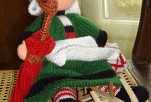 Jouets tricotes