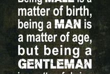 Be good man..