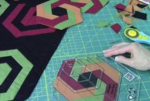 Patchwork and quilting / Patchwork and sewing.