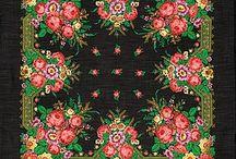Павло-посадские платки