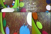 W wielkim formacie / malowanie ścian, inspiracje, pokój dziecka, diy