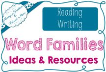 Always Teaching Word Families / Word Families Ideas & Resources