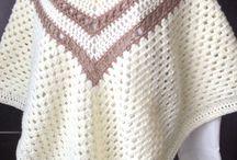 poncho /omslag doeken