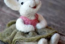 Needle Felted Wool