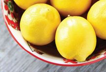 Lemon recipes etc