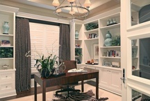 Home Office Design / Recreate this beautiful home office!