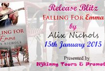 Review Tour: Falling For Emma by Alix Nichols / This board contains all review posts done as part of the tour organized by Njkinny Tours & Promotions