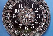 Relojes puntillismo y mandalas lindos
