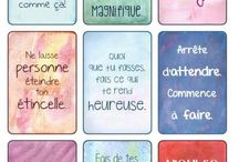 Inspiration citations / proverbes