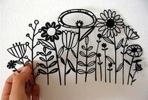 Paper cutting / by Cammie Wilson
