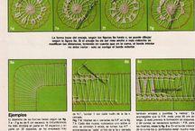 Игольное кружево Needle lace