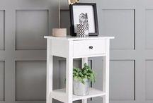 White Bedside Cabinet Storage Unit Bedroom Furniture Wooden Cupboard Living Room