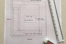 Floor plans/furniture placement.