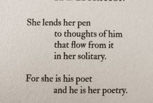 Poems / For the love of poems
