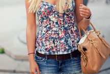 spring / outfits for flowery days and warm nights