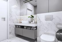 Nowoczesne mieszkanie w Krakowie / Projekt mieszkania w Krakowie urządzonego w nowoczesnym stylu.  Po więcej inspiracji zapraszamy na Naszą stronę internetową:biuro@monostudio.pl oraz na Facebooka