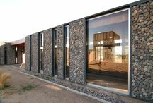 Architectural: Gabion Walls