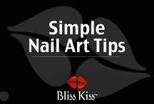 Simple Nail Art Tips / Simple Nail Art Tips  / by Bliss Kiss