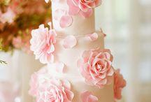 bolos com rosas