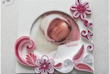 Photo frame quilling