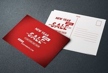New Year Sale Postcard (RED)