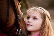 Moodboard paardenshoot kinderen