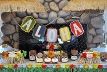 Hawaiian bridal shower
