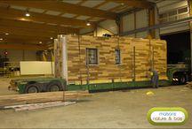 Reportage maison bois / Voici un album qui vous présente les différentes étapes de la construction de l'une de nos maisons en bois. Pour en apprendre plus sur notre structure dédiée à la construction en bois : www.maison-ossature-bois.com