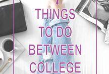College/uni tips!