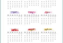 Calendars & Organizers/Lists