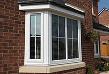UPVC Windows / Range of white and coloured upvc windows