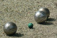 Sport: Jeu de boules/Pétanque / Foto's en de regels van jeu de boules. Let op: dit is echt een sport!