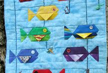 fish & underwater theme quilts