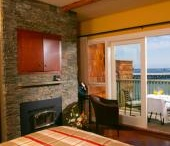 Yes, there's room at the Inn! / All the rooms at the Inn are Oceanfront and have a real wood-burning fireplace.