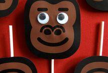 King Kong Theme Party / King Kong Theme Party Ideas for Kids'Birthday
