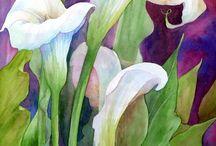 Art - lillies
