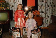 #3 kodachrome & vintage color- halloween / #vintage #halloween #retro #snapshot #vernacular #1950s #1960s #1970s #costume #masquerade #photo #nostalgia / by troy bradberry