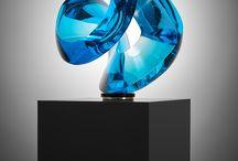 Contemporary glass art