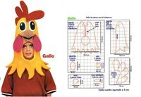 Rooster costume diy