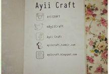 Ayii Craft / Pouch Handmade Cute