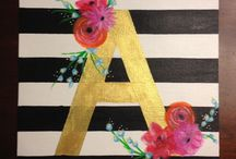 Personalized Art/ Projects / by Micaila Rose