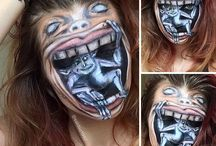 Crazy makeups |