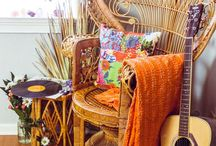 Peacock chairs and cane furniture
