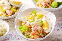 salade ( saumon )